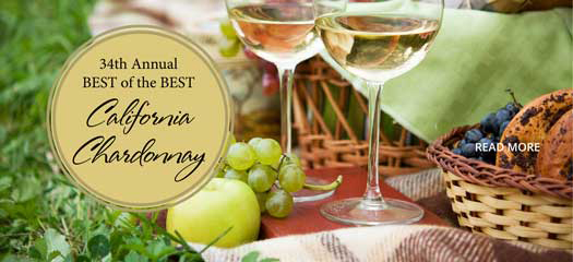 34th annual best of the best California Chardonnay